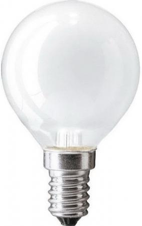 Лампа накаливания PHILIPS P45 40W E14 FR шарик матовый philips b35 40w e14 fr 1