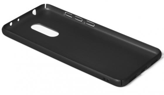 Чехол soft-touch DF xiSlim-02 для Xiaomi Redmi 5 черный чехол soft touch для asus zenfone 3 ze552kl df aslim 17