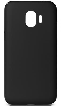 Чехол soft-touch DF sSlim-34 для Samsung Galaxy J2 (2018)/J2 Pro (2018) черный аксессуар чехол для samsung galaxy j2 2018 j2 pro 2018 df soft touch sslim 34 pink sand
