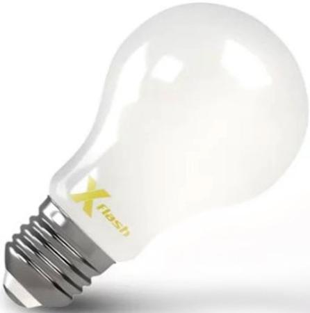 Фото - Лампа X-FLASH XF-E27-FLMD-A60-6W-2700K-230V 6Вт meike mk 930 ii mk 930 lcd gn58 flash speedlite single point flash for canon nikon pentax olympus dslr diffuser filter