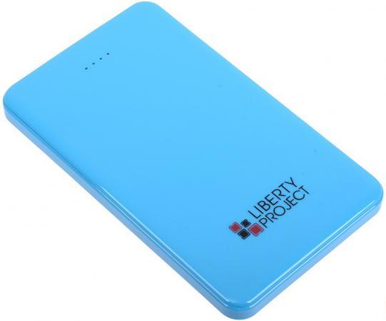 Внешний аккумулятор Power Bank 5000 мАч LP 0L-00002277 синий внешний аккумулятор samsung eb p3020c 5000 мач тёмно синий