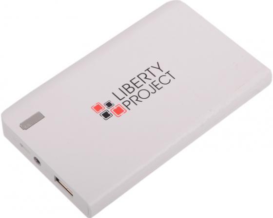 Внешний аккумулятор Power Bank 6000 мАч LP 0L-00029996 белый 2600mah power bank usb блок батарей 2 0 порты usb литий полимерный аккумулятор внешний аккумулятор для смартфонов pink