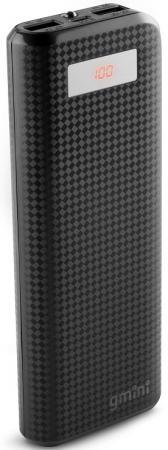 Внешний аккумулятор Power Bank 15600 мАч Gmini GM-PB156TC черный аккумулятор внешний gmini gm pb 4in1