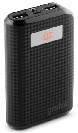 Внешний аккумулятор Power Bank 7800 мАч Gmini GM-PB-80TC черный 2600mah power bank usb блок батарей 2 0 порты usb литий полимерный аккумулятор внешний аккумулятор для смартфонов pink