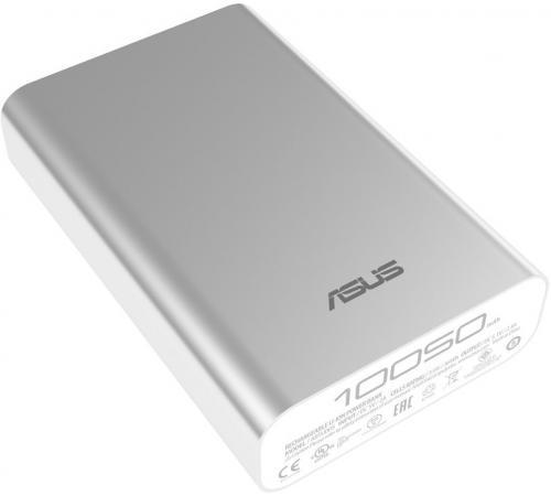 Фото - Внешний аккумулятор Power Bank 10050 мАч ASUS ZenPower ABTU005 серебристый 90AC00P0-BBT077 внешний аккумулятор для