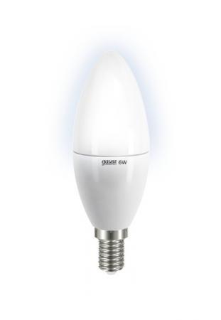 Лампа GAUSS LED Elementary Candle 6W E14 4100K LD 33126