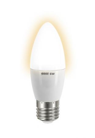 Лампа GAUSS LED Elementary Candle 6W E27 2700K  арт.LD33216