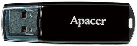 Фото - Флешка USB 32Gb Apacer Flash Drive AH322 AP32GAH322B-1 черный флешка samsung usb 3 1 flash drive duo plus 256gb черный