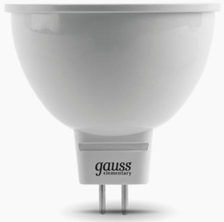 цена на Лампа светодиодная рефлекторная Gauss 13516 GU5.3 5.5W 2700K