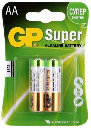 Батарейка GP 15A 1.5В AA LR6 (толстая) (цена за шт, в блистере 4шт) батарейка космос koclr034bl lr lr03 bp 4 цена за блистер 4шт
