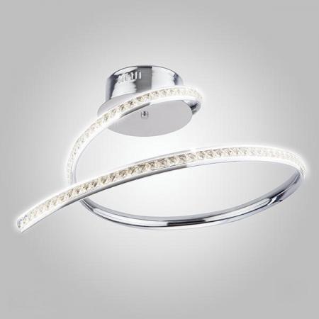 Потолочный светодиодный светильник Eurosvet Ilana 90045/1 хром потолочный светодиодный светильник eurosvet 90045 1 хром