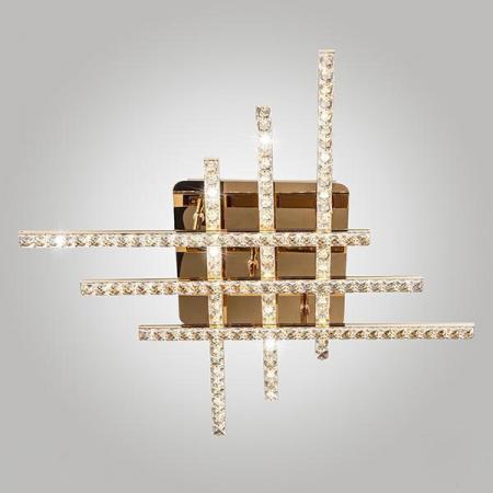 Потолочный светодиодный светильник Eurosvet Soprano 90041/6 золото tongtai 30069