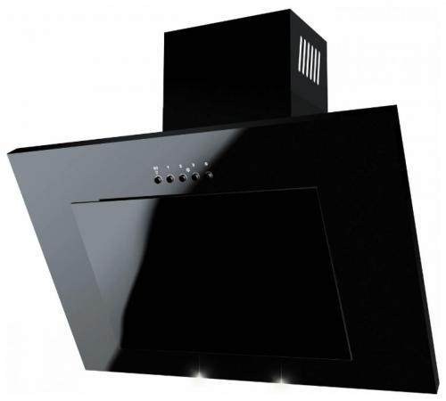 Вытяжка каминная LEX Mini 500 черный наклонная вытяжка lex mini 500 black
