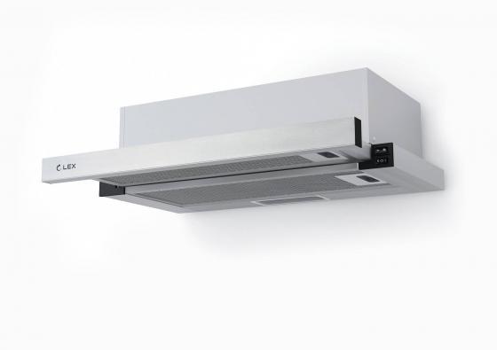 лучшая цена Вытяжка встраиваемая LEX HUBBLE 600 INOX нержавеющая сталь