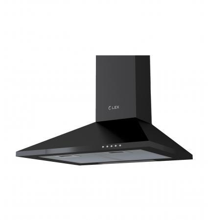 лучшая цена Вытяжка купольная LEX BASIC 600 BLACK 540м3/час лампы накаливания
