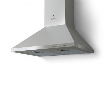 Вытяжка купольная LEX BISTON ECO 500 INOX 500м3/час галогенные лампы галогенные лампы