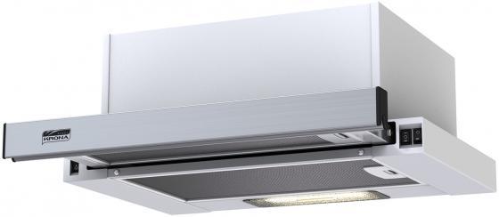 Вытяжка встраиваемая Kronasteel Kamilla 450 белый/нержавеющая сталь