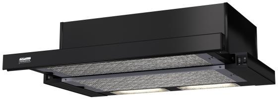 Вытяжка встраиваемая Kronasteel KAMILLA 600 черный встраиваемая вытяжка kronasteel kamilla sensor 600 black black glass