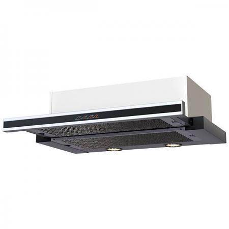 Вытяжка KRONASTEEL KAMILLA sensor 600 inox 2 мотора кухонная