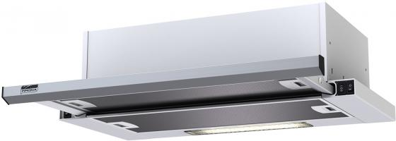 лучшая цена Вытяжка KRONASTEEL KAMILLA slim 600 INOX 2 мотора кухонная