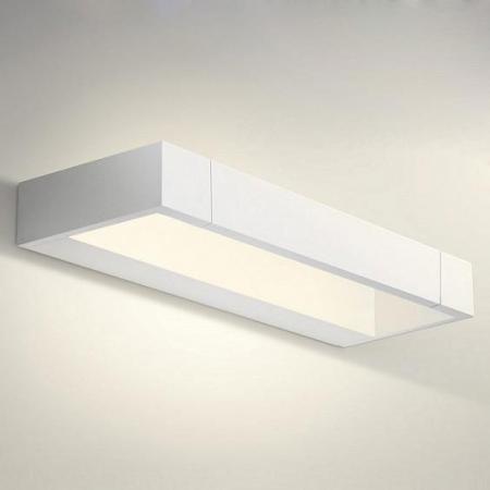 Настенный светодиодный светильник Crystal Lux CLT 028W WH настенный светодиодный светильник crystal lux clt 511w425 wh