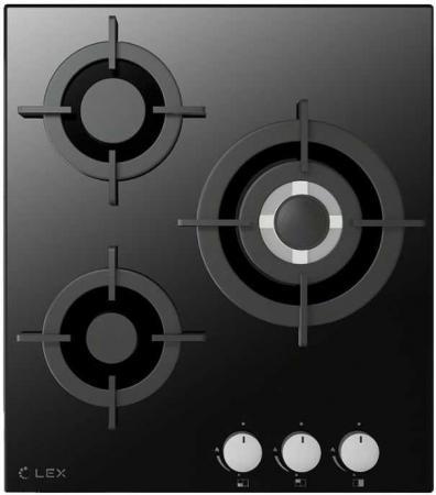 Варочная панель газовая LEX GVG 430 BL черный варочная панель газовая midea q302gfd bl черный