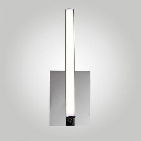 Настенный светодиодный светильник Eurosvet Хай-Тек 90020/1 хром кровать хай тек
