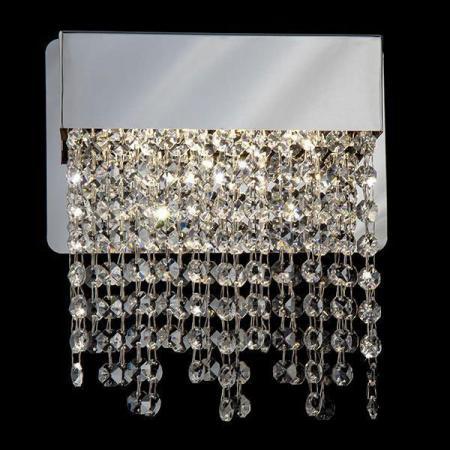 Настенный светодиодный светильник Eurosvet Royal 90053/1 хром настенный светодиодный светильник eurosvet royal 90049 1 хром