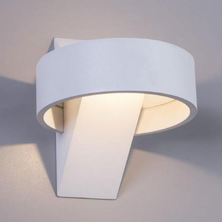 Настенный светодиодный светильник Arte Lamp Anello A1705AP-1WH бра arte lamp anello 1 х led 5 w a1705ap 1wh