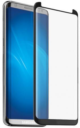 Закаленное стекло 3D DF sColor-28 с цветной рамкой для Samsung Galaxy S8 Plus черный оригинальный samsung galaxy s8 s8 plus nillkin 3d ap pro полноэкранный экранный протектор экрана