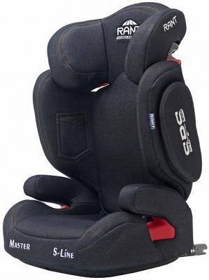 Автокресло Rant BH2311 Master Isofix SPS (black jeans) группа 2 3 от 15 до 36 кг рант bh2311 master isofix sps