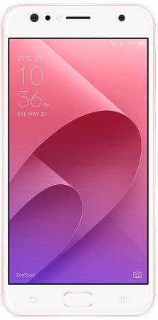 Смартфон ASUS ZenFone 4 Selfie ZD553KL розовое золото 5.5 64 Гб LTE Wi-Fi GPS 3G 4G 90AX00L3-M01510 смартфон asus zenfone zoom zx551ml белый 5 5 128 гб nfc lte wi fi gps 3g 90az00x2 m01380