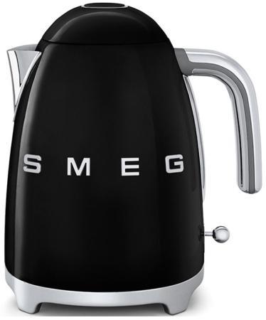 Чайник Smeg KLF03BLEU 2400 Вт чёрный 1.7 л нержавеющая сталь