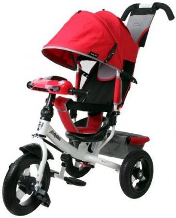 Купить со скидкой Велосипед трехколёсный Moby Kids Comfort Air Car 2 300/250 мм красный 641087