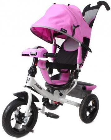Велосипед трехколёсный Moby Kids Comfort Air Car 2 300/250 мм розовый 641089