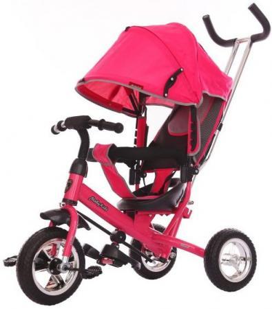 Велосипед трехколёсный Moby Kids Start Eva 250/200 мм розовый 641046