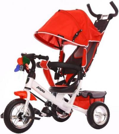 Велосипед трехколёсный Moby Kids Comfort EVA 250/200 мм красный 641047