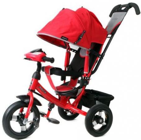 Велосипед трехколёсный Moby Kids Comfort AIR Car1 300/250 мм красный 641084