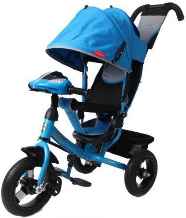 Велосипед трехколёсный Moby Kids Comfort AIR Car1 300/250 мм синий 641085 велосипед moby kids comfort maxi 12 10 синий трехколёсный