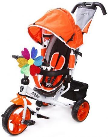 Велосипед трехколёсный Moby Kids Comfort EVA 250/200 мм оранжевый 641151 моноблок asus vivo aio v241icuk 90pt01w1 m19250 23 8 черный