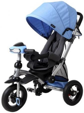 Велосипед трехколёсный Moby Kids Stroller trike 10x10 AIR Car 250 мм синий 641074