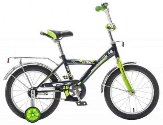 Велосипед двухколёсный Novatrack ASTRA 16 16 черный 163ASTRA.BK5 детский велосипед для мальчиков novatrack astra 20 x60748 к white