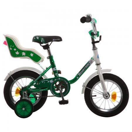 """Велосипед двухколёсный Novatrack MAPLE 12"""" 12"""" зеленый 124MAPLE.GN7"""