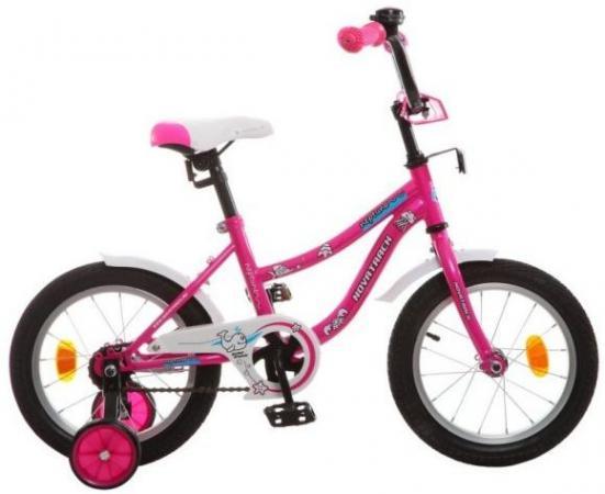 """Велосипед двухколёсный Novatrack NEPTUNE 14"""" 14"""" розовый 143NEPTUN.PN5"""