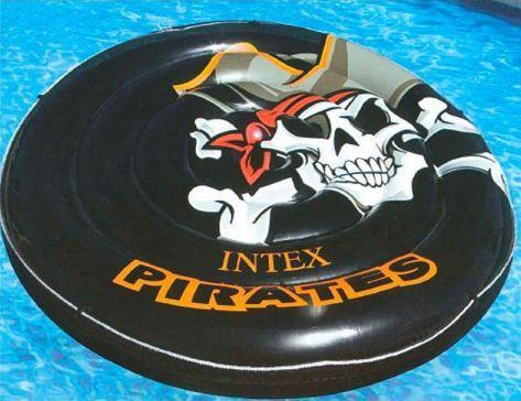 Надувная игрушка Intex ватрушка