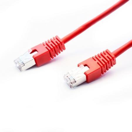 Патч-корд FTP 5Е категории 3м красный CU PVC Lanmaster LAN-PC45/S5E-3.0-RD