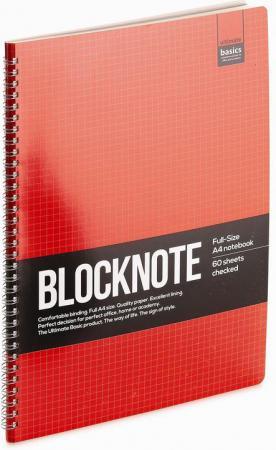 Блокнот ULTIMATE BASICS, ACTIVE BOOK, спираль, кл., ф.А6, ассорти цена