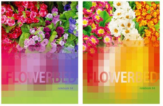 """Блокнот Би Джи """"Цветочный калейдоскоп"""" A6 64 листа ББИ6_7БЦ64гл 3665"""