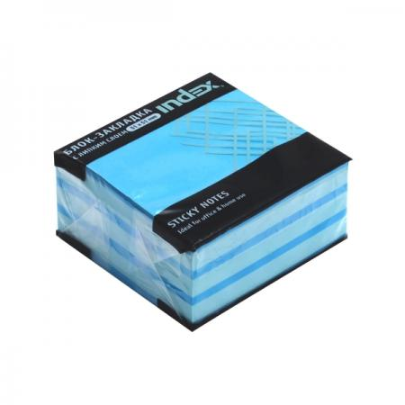Бумага для заметок с липким слоем МИНИ-КУБ, разм. 51х51 мм, голубая пастель, 250 л аниме чашки универсальный товар sanrio anrio hello kitty