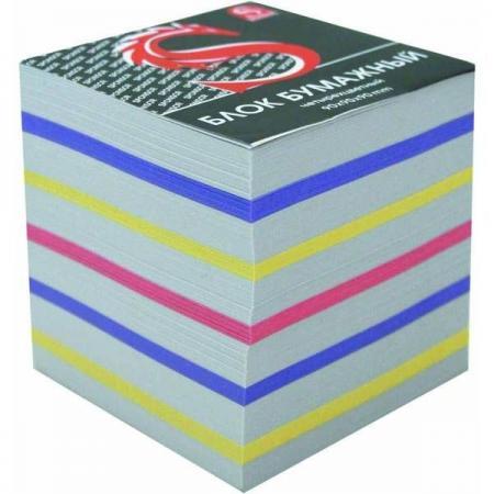 Блок бумажный SPONSOR 90х90х90 мм многоцветный 4607692475534